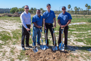 Caption: The Wermers Team (from left to right): Jeff Bunker, Marco Leyva, Ken Maskevich, and Rich Wood.